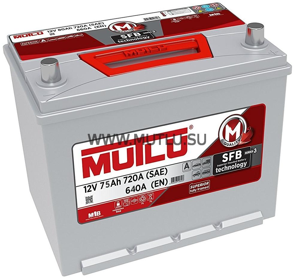 Аккумулятор Mutlu 90D26FL SFB серия 3